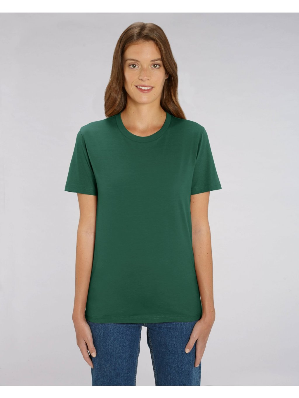 "Unisex tričko ""Creator"" tmavě zelené"