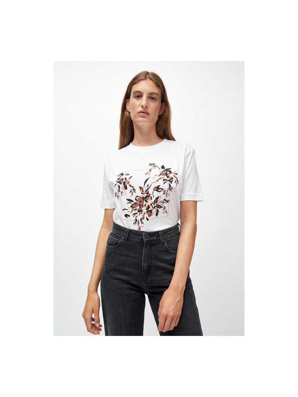 """Dámské tričko z biobavlny """"MIAA floral frame"""""""