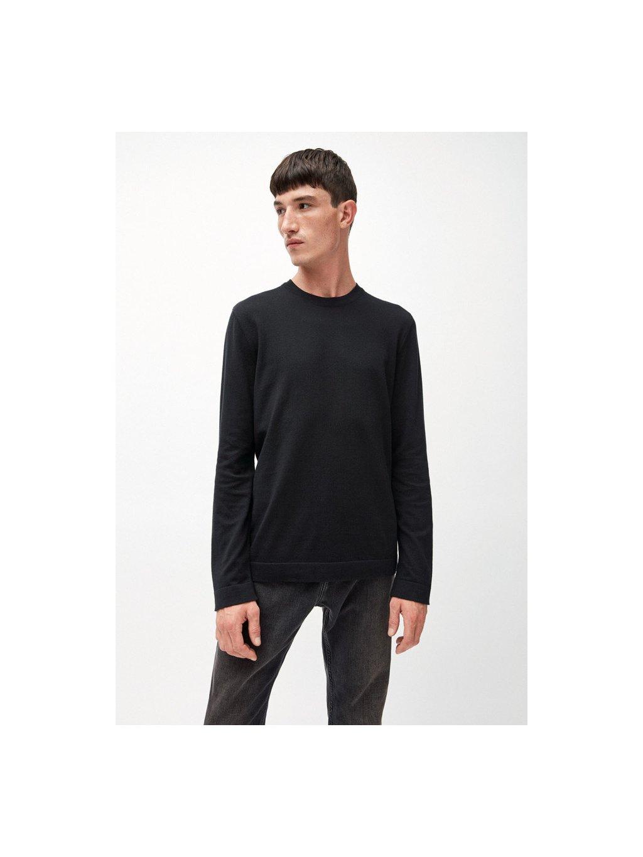 """Pánský černý svetr z biobavlny """"LAADO"""""""