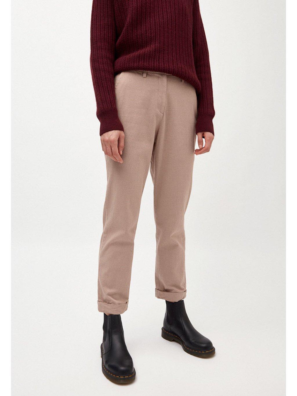 """Dámské kalhoty se vzorem """"HELLAA dark caramel"""""""