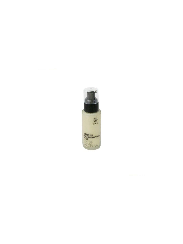Two Cosmetics Krém na problematickou pleť 50ml (s tea tree a kyselinou hyaluronovou)