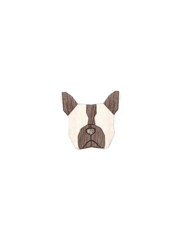 0 bulldog brooch cover