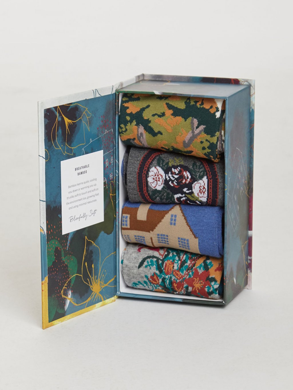 sbw4524 country manor ladies country manor bamboo socks box 2
