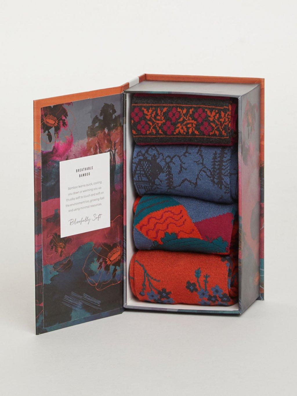 sbw4523 alpine festive alpine bamboo sock gift box 2