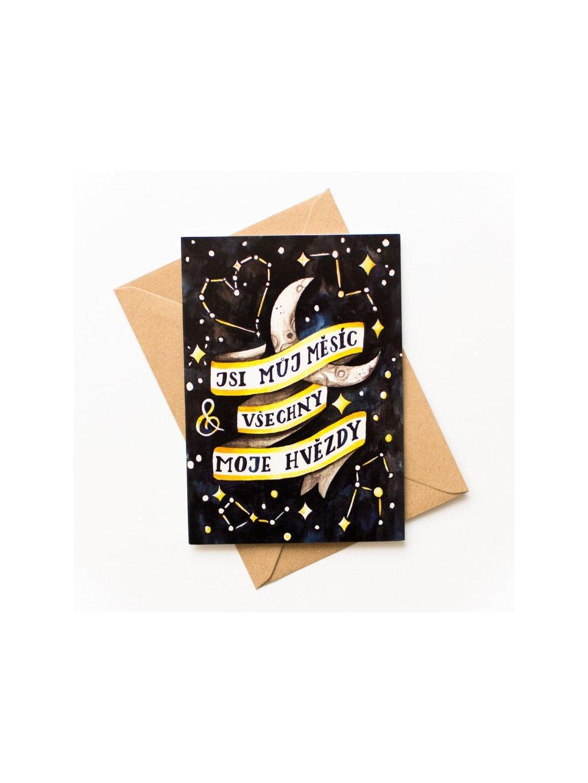88 jsi muj mesic vsechny moje hvezdy
