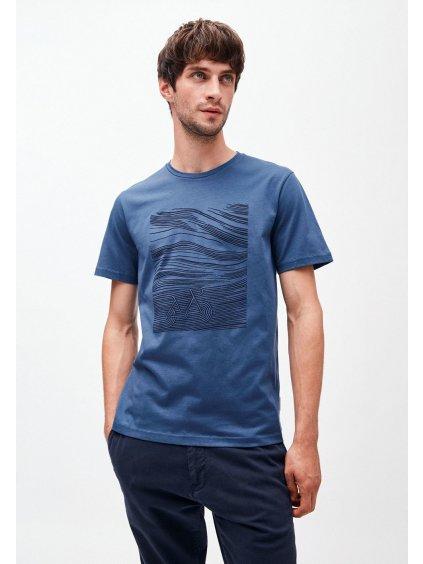 """Pánské modré tričko s potiskem """"JAAMES BICYCLE"""""""