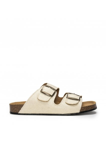 Darco white pinatex flat sandal unisex vegan 1 316fb8b6 17bd 421d 993e 6e4853435b1a 1024x1024@2x