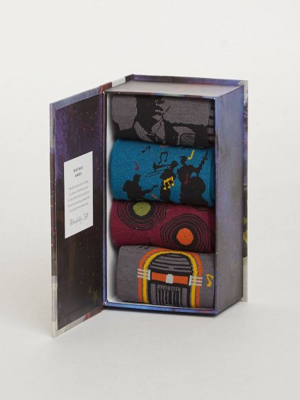 sbm jazz jazz music bamboo sock gift box 1 1