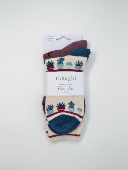 sbw5139 multi yogi bamboo yoga socks x 2 in a pack 1