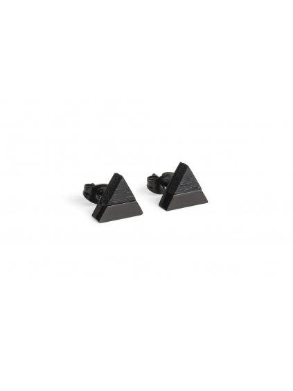 0 nox earrings triangle