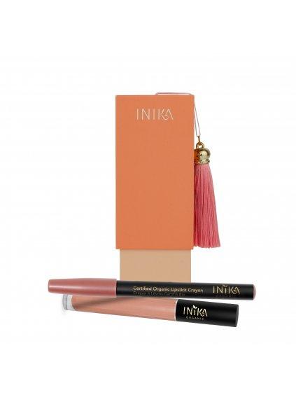 Inika Organic Luscious Lips - Sada líčení na rty