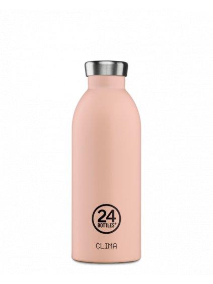 Termoláhev Clima Bottle: DUSTY PINK (500ml)