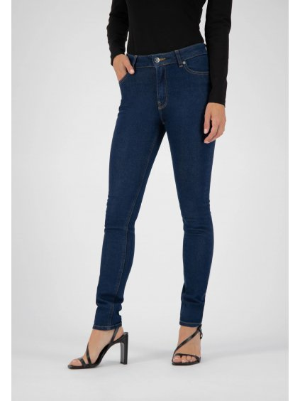 """Dámské slim fit džíny s vysokým pasem """"Skinny Hazen - Strong Blue"""""""
