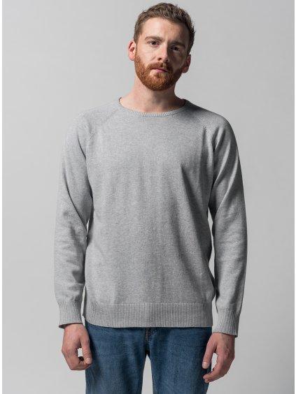 Men Knit Pullover grey 1