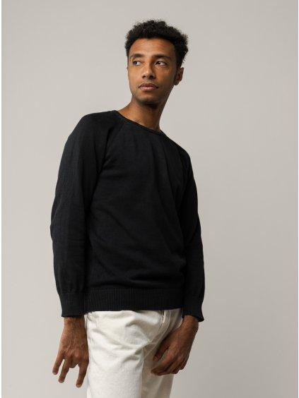01 Basic Men cardigan black 72dpi DSC 7596