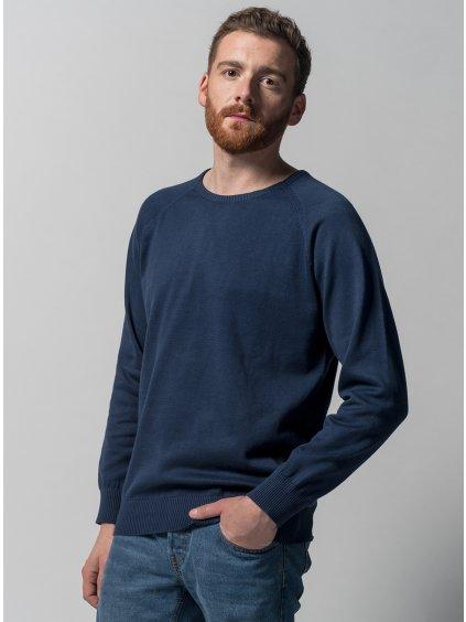 Men Knit Pullover blue 3