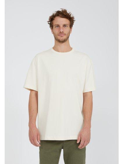 """Pánské krémové tričko """"AALEX undyed"""""""