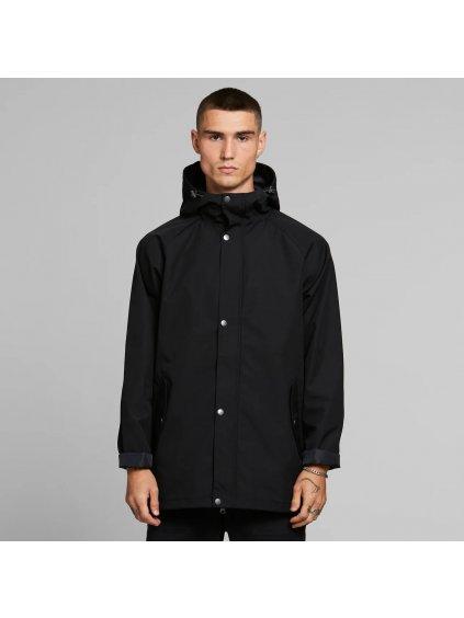"""Pánská černá nepromokavá bunda """"Hoddevik Black"""""""
