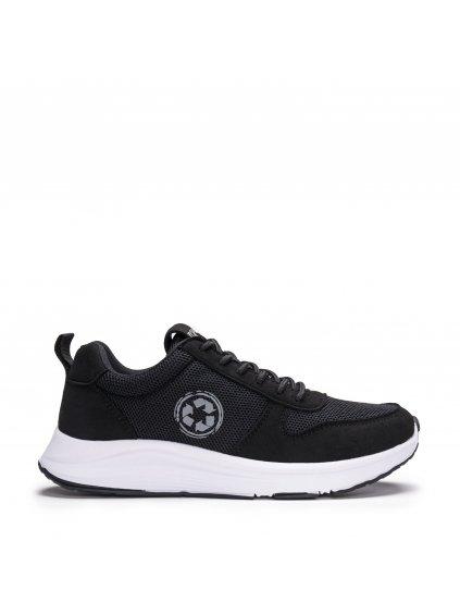 """Unisex černé recyklované běžecké tenisky """"Jordan Black"""""""