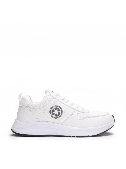 """Unisex bílé recyklované běžecké tenisky """"Jordan White"""""""