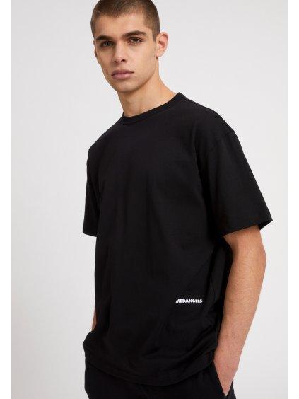"""Pánské černé tričko """"AALEX AACT black"""""""