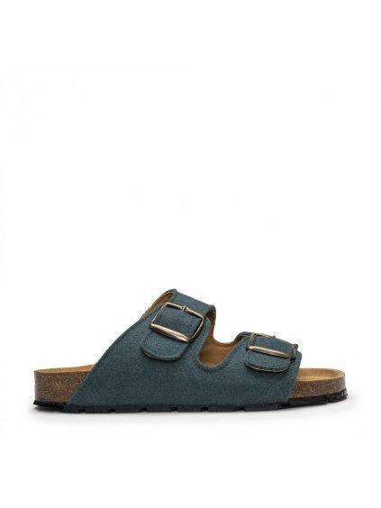 """Unisex zelené sandálky z recyklovaných plastových lahví """"Darco PET Green"""""""