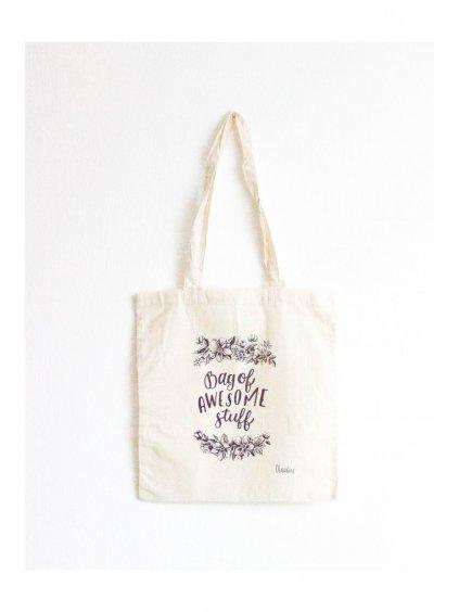 116 tote bag bag of awesome stuff