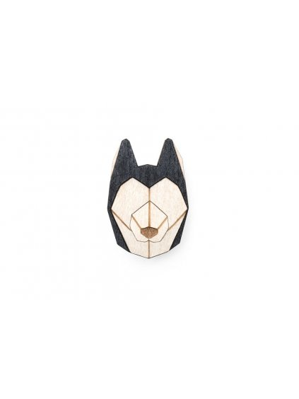 0 husky brooch cover