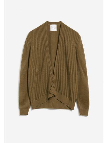 """Dámský zelený svetřík """"VEAA golden khaki"""""""