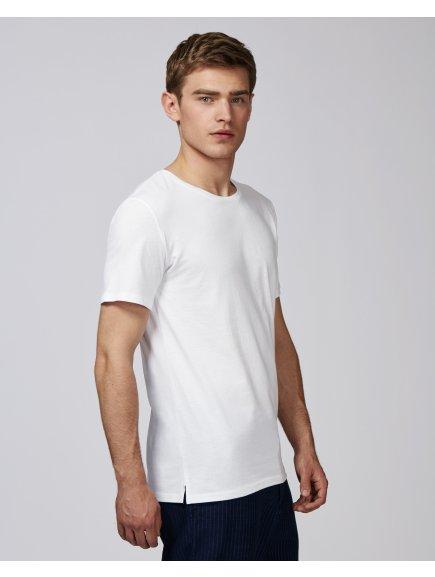 """Unisex tričko """"Live"""" bílé"""