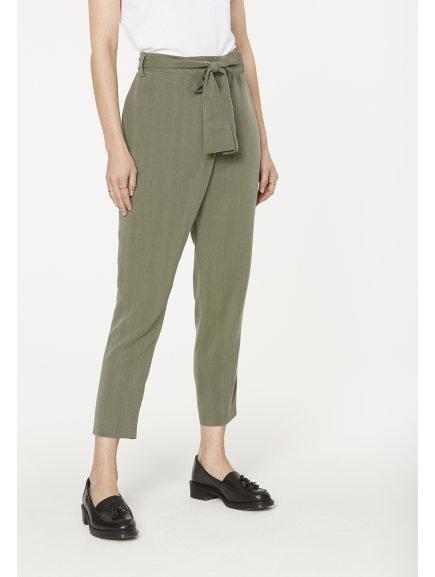 """Dámské zelené kalhoty """"Jolena Khaki"""""""