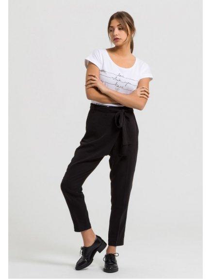 """Dámské černé kalhoty """"Jolena"""""""