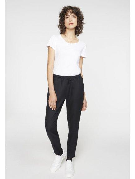 """Dámské černé kalhoty """"Anka"""""""