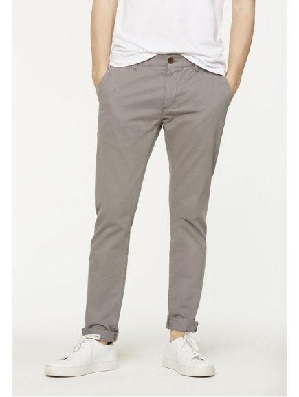 """Pánské světle šedé chino kalhoty z biobavlny """"Brandon"""""""