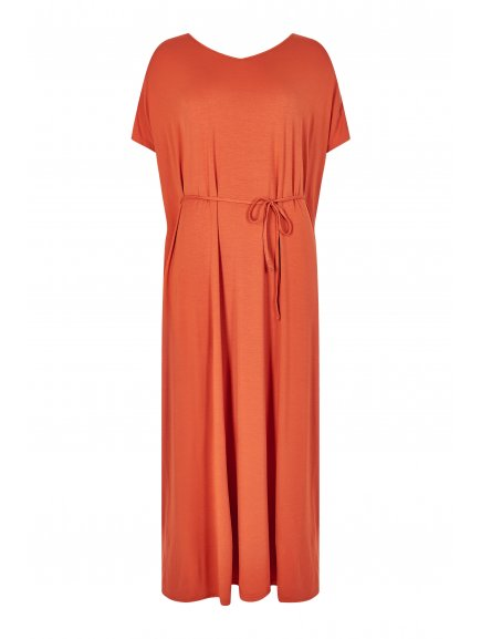 eka dress orange