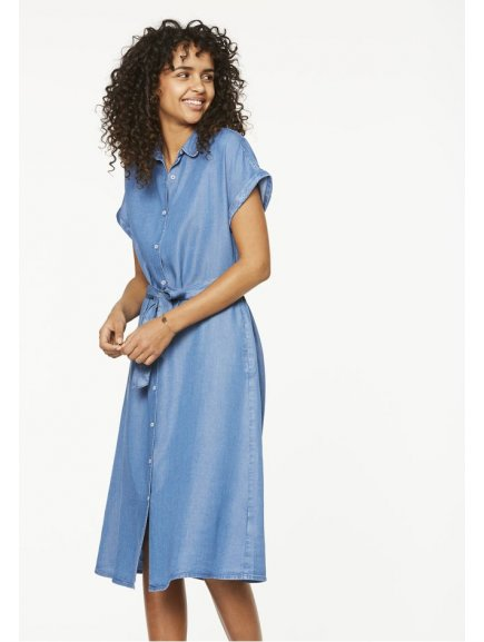"""Dámské košilové šaty z eukalyptu """"Marja"""""""