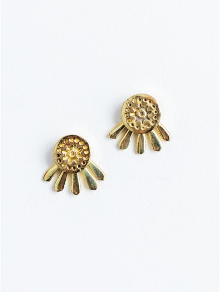 earrings sunshinestuds gold3