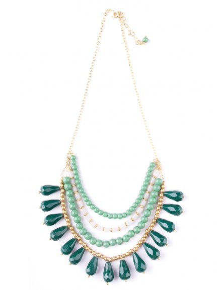 necklace etta green