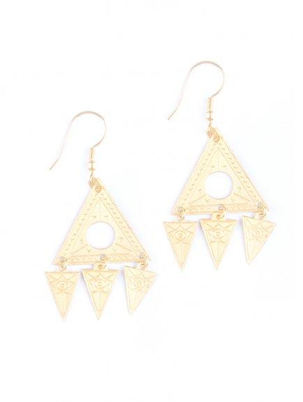 earrings cosmos gold
