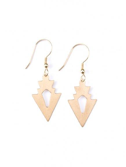 earrings petitarrow gold
