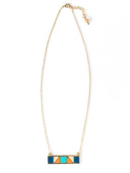 necklace mondrianbar blue