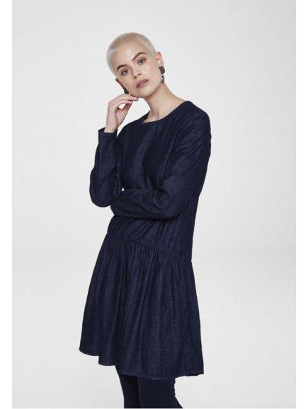 """Dámské denimové šaty z biobavlny """"Iveta"""""""