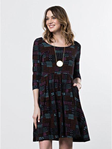 dress rosalie blackquilt m2
