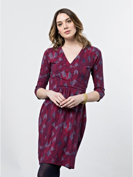 dress geneva fuchsia m