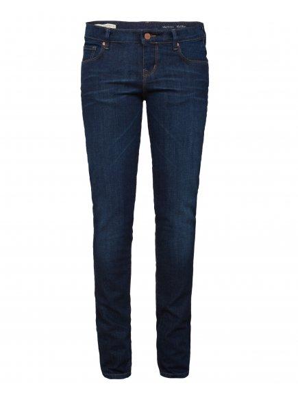 "Dámské modré slim džíny z biobavlny ""Tilly"""