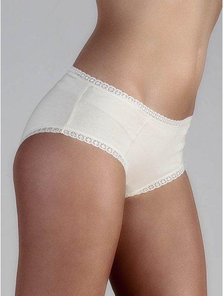 """Dámské kalhotky s krajkou """"Hipster - Natur"""""""