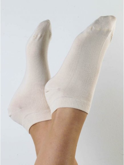 Ponožky do tenisek - přírodní