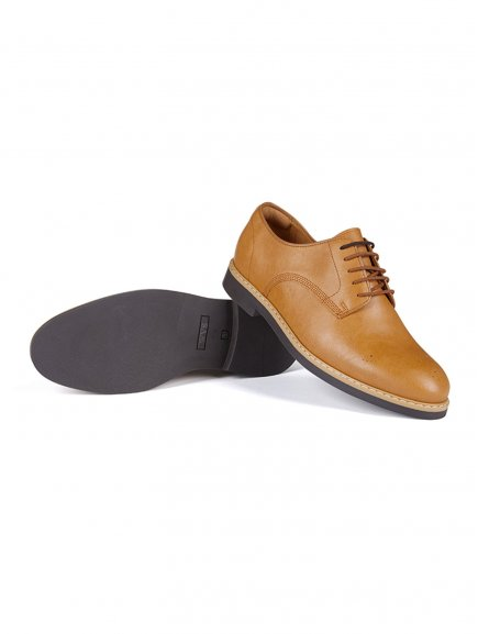 signature brogues tan 3