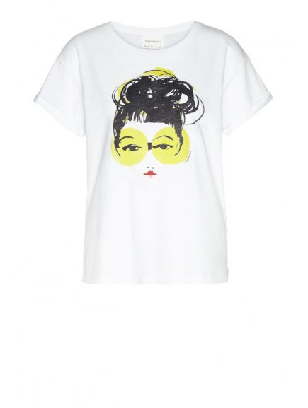 """Dámské tričko z biobavlny """"NAALIN PORTRAIT"""""""