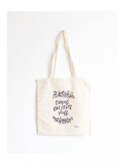 116 tote bag bag of awesome stuff